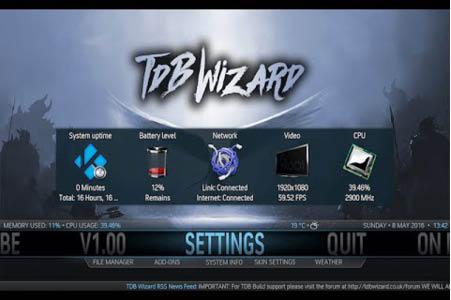 TDB Wizard