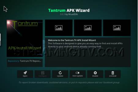 Tantrum APK Wizard