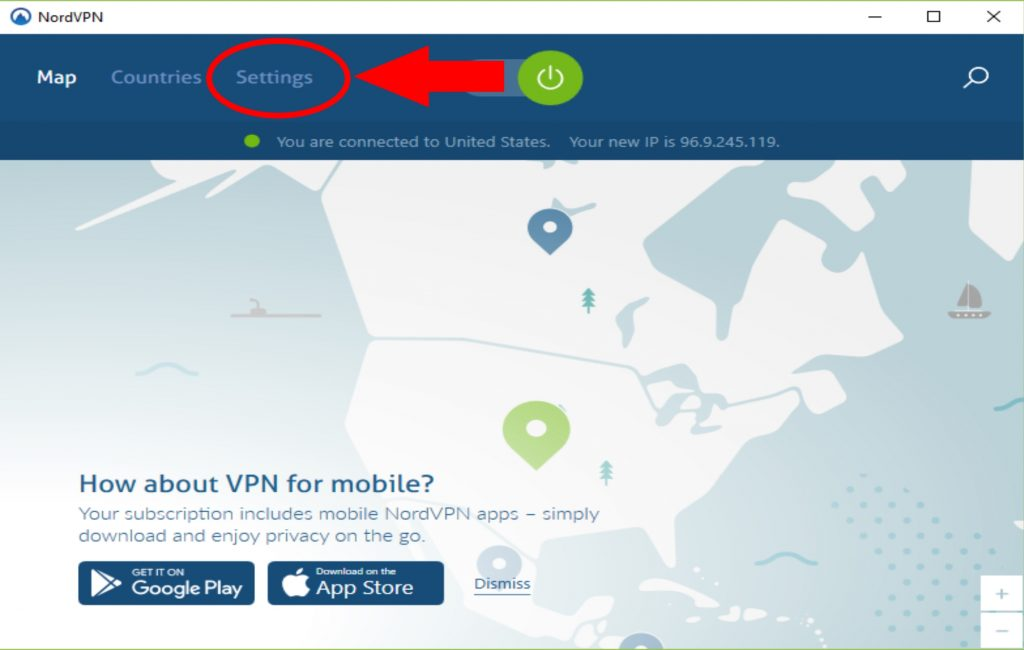 NordVPN Setting Up and Using Image