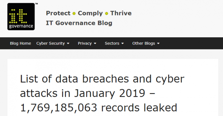 DataBreach Stats image