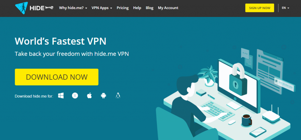 Hide.me VPN image