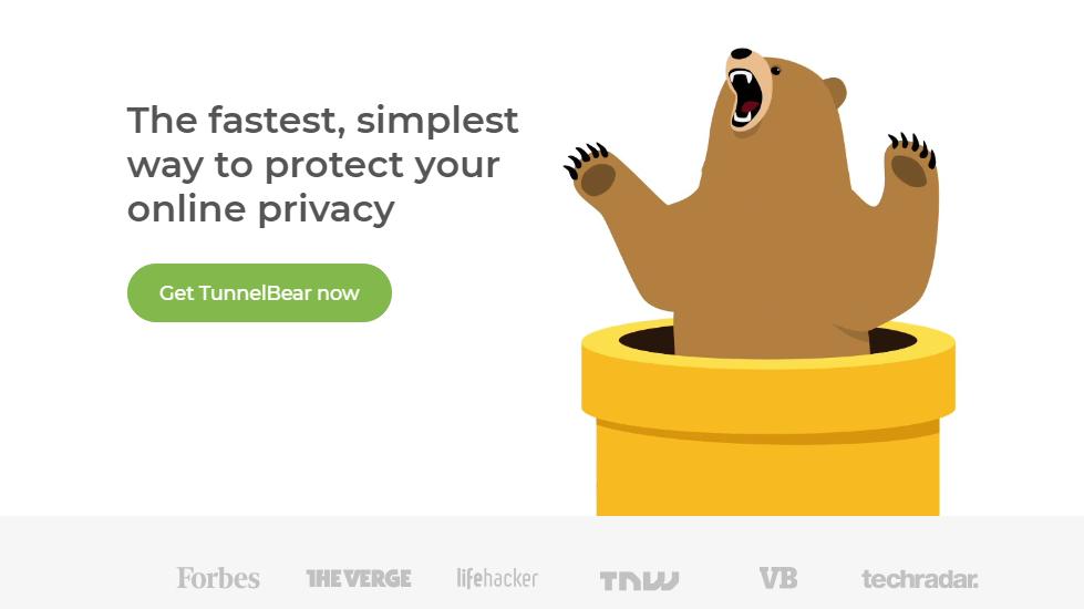 Tunnel Bear image