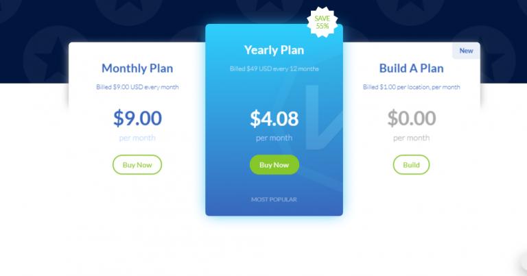 Windscribe Price Plan image